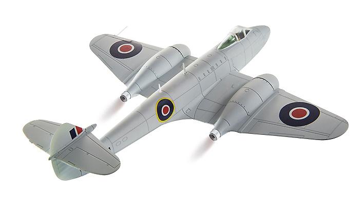 Gloster Meteor F3, YQ-Q, 616 Squadron, 1:72, Corgi
