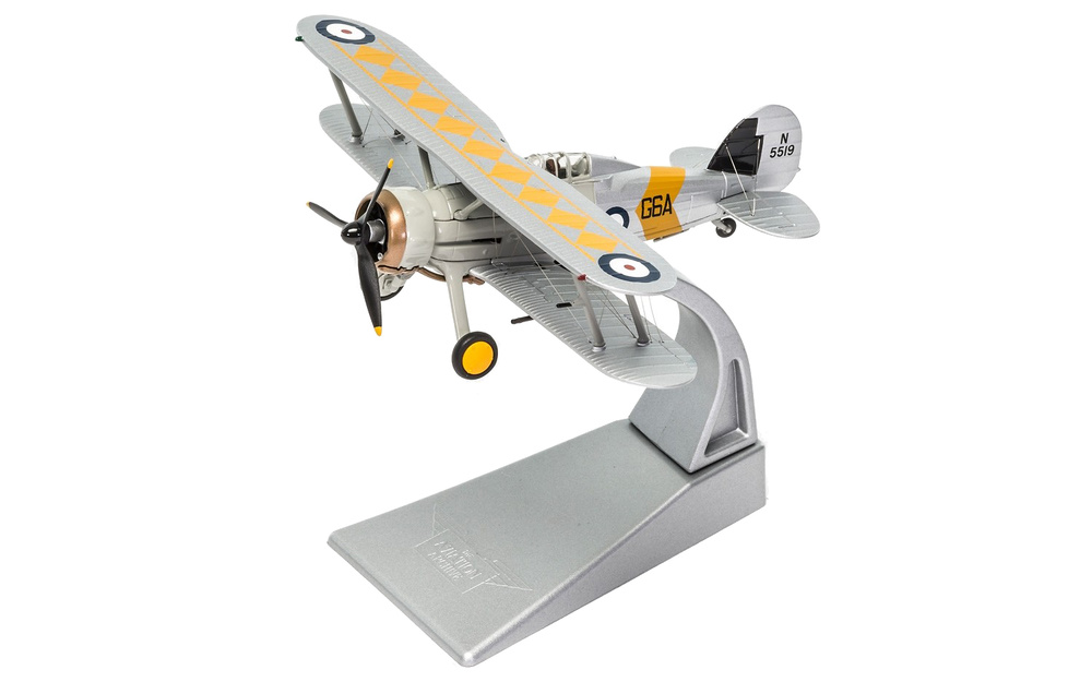 Gloster Sea Gladiator, N5519/G6A, HMS Glorious, 1939, 1:72, Corgi