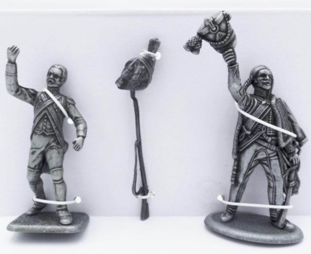 Granadero a Pie de la Guardia, Fusil y Sombrero de Granadero, Húsar de 4º Regimiento, 1:24, Atlas Editions