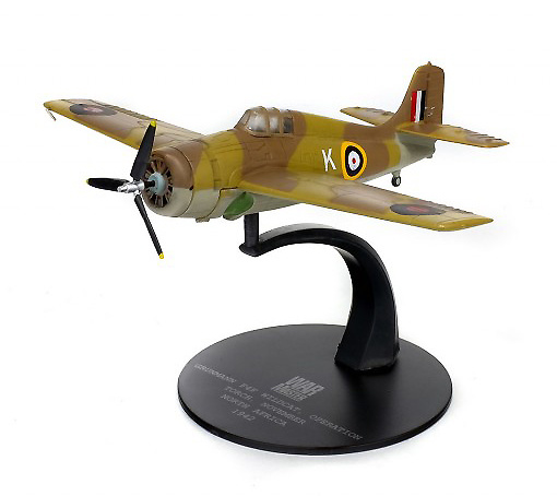 Grumann F4F Wildcat, Operación Torch, Africa del Norte, 1942, 1:72, Solido