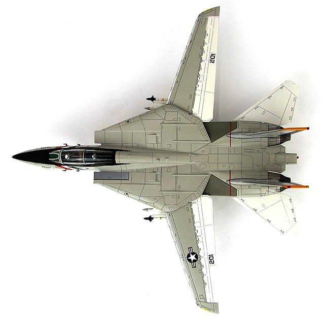 Grumman F-14A Tomcat Block 85 159625, VF-2 Bounty Hunters, 1976, 1:72, Hobby Master