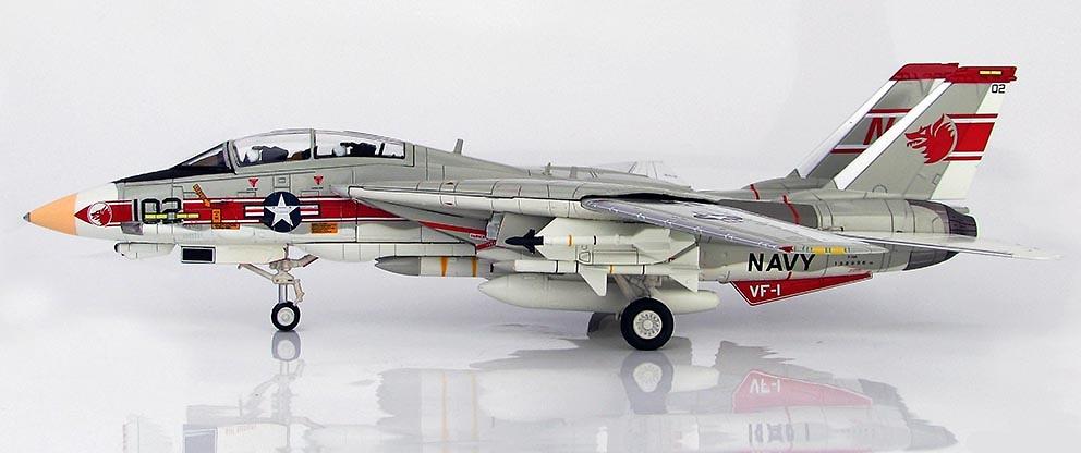 Grumman F-14A Tomcat NK102, USS Enterprise, Julio, 1976, 1:72, Hobby Master