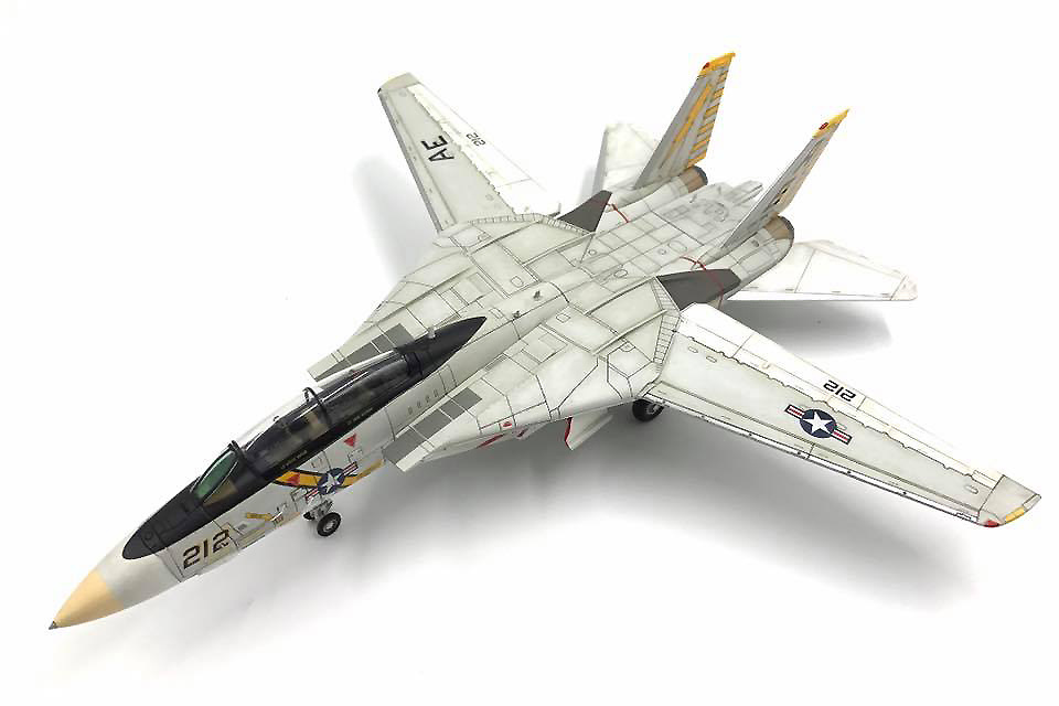 Grumman F-14A Tomcat VF-142 Ghostriders, 1:72, Calibre Wings