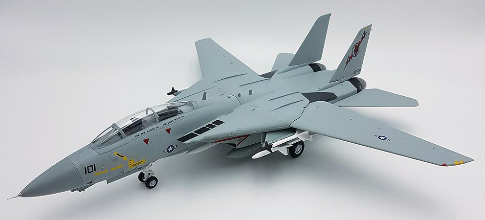 Grumman F-14B Tomcat, USN VF-74 Be-Devilers, AA101, USS Saratoga, 1992, 1/72, Easy Model