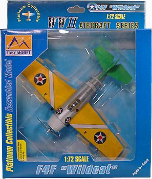 Grumman F4F Wildcat, VF-41, USS Ranger, 1941, 1:72