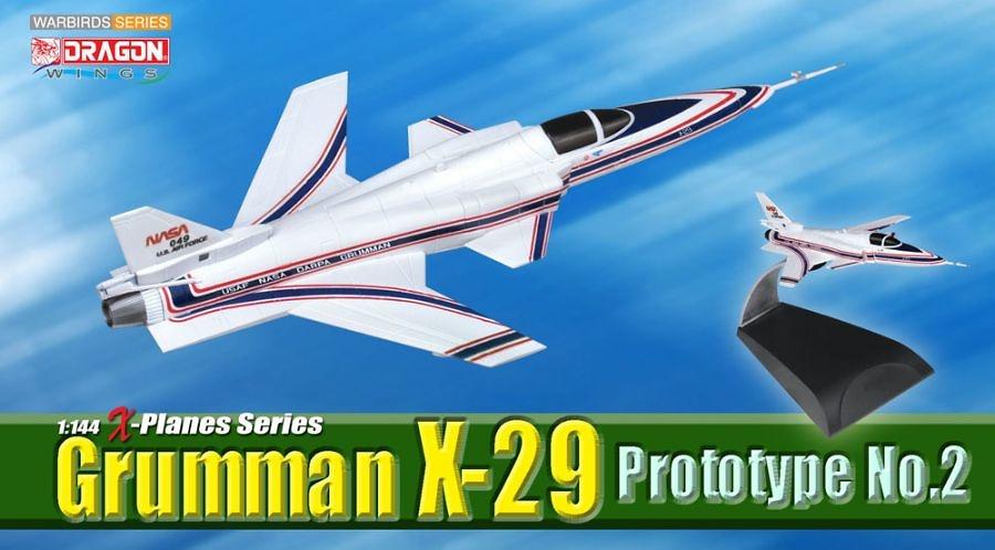 Grumman X-29, Prototype No.2