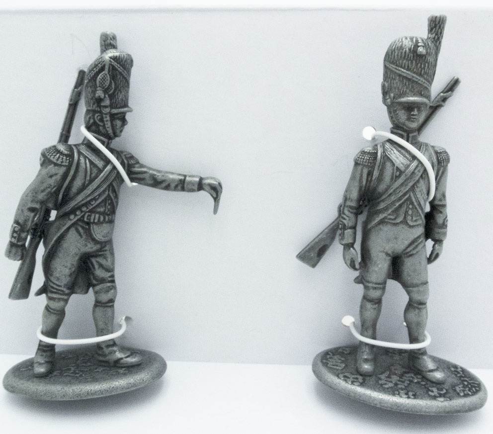 Guardia Artillero con Broche, Fusilero de la Guardia Imperial, 1:24, Atlas Editions