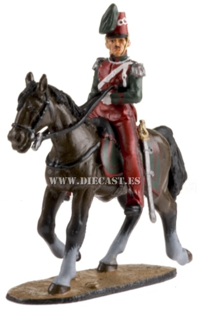 Guardia de Honor Napolitano, 1850-70, 1:30, Del Prado