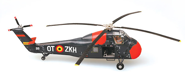 H34 Choctaw, Belgium Air Force, 1:72, Easy Model