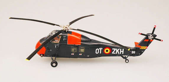 H34 Choctaw, Fuerza Aérea Belga, 1:72, Easy Model