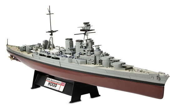 HMS Battlecruiser Hood, Royal Navy, Batalla de Estrecho de Dinamarca, 1941, 1:700, Forces of Valor