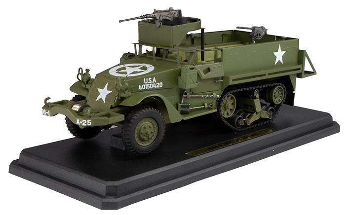 Halftrack M3 A1, U.S. Army, 1:24, Kaden