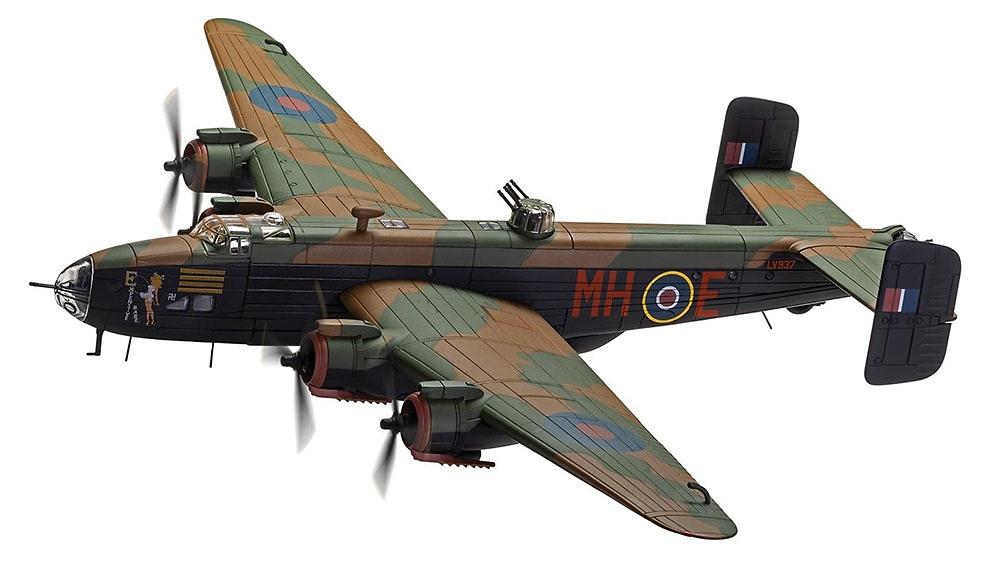 Halifax B.III LV937/MH-E 'Expensive Babe', RAF No.51 Squadron, Snaith, Marzo 1945, Halifax Centurion, 1:72, Corgi