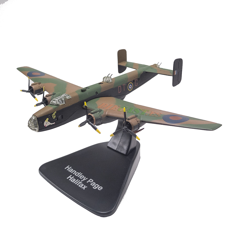 Handley Page Halifax, Gran Bretaña, 1940/61, 1:144, Editions Atlas