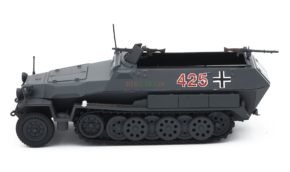 Hanomag SdKfz 251/1, Semioruga blindado, Alemania, 1939-45, 1:43, Atlas
