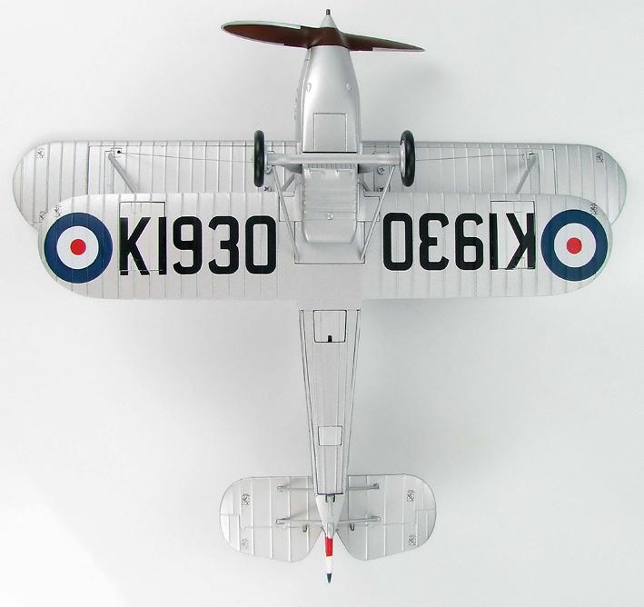 Hawker Fury I Sqn Leader R H Hanmer, 43 Sqn RAF, 1932