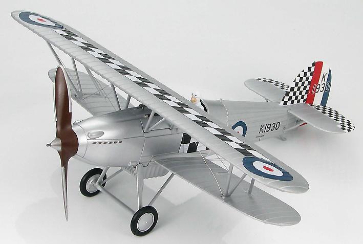 Hawker Fury I Sqn Leader R H Hanmer, RAF No. 43 Sqn