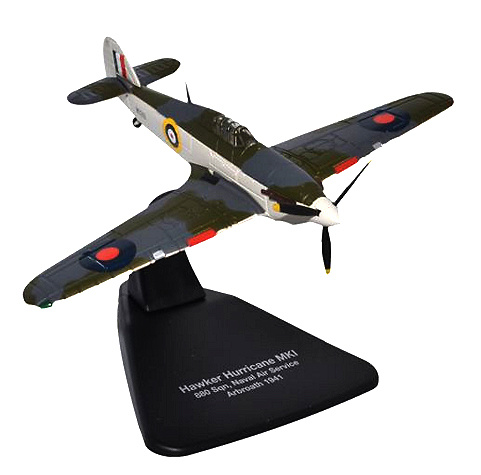 Hawker Hurricane Mk1, Naval Air Service 880 Sqn.,1941, 1:72, Oxford