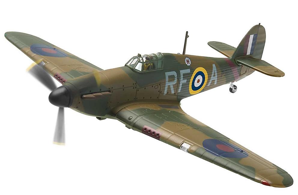 Hawker Hurricane MkI, P3120, 303 Polish Squadron, Officer Z K Henneberg, Northolt, 1940, 1:72, Corgi