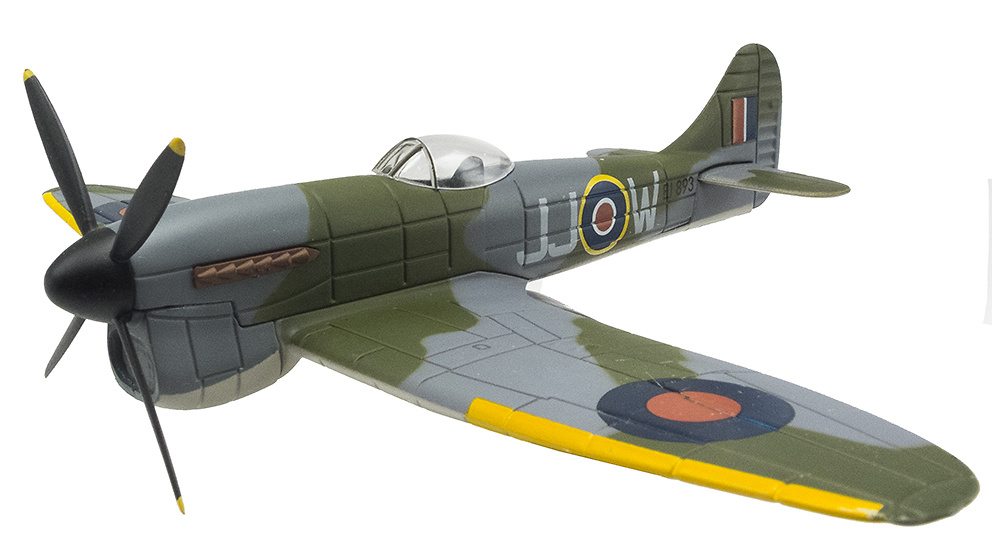 Hawker Tempest + Messerschmidt Me262,