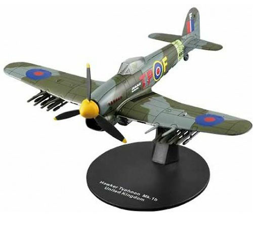 Hawker Typhoon Mk.1b, Royal Air Force, 2º G.M., 1:72, DeAgostini