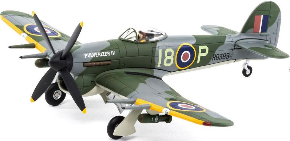 Hawker Typhoon lB RB389/I8-P 'Pulverizer IV', RCAF 'City of Otawa', 1:72, Corgi