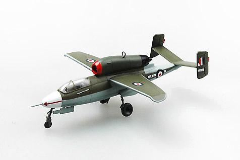 He 162A-2 (W.Nr.120072) estrellado en Aldershot, 9 Noviembre, 1945, 1:72, Easy Model