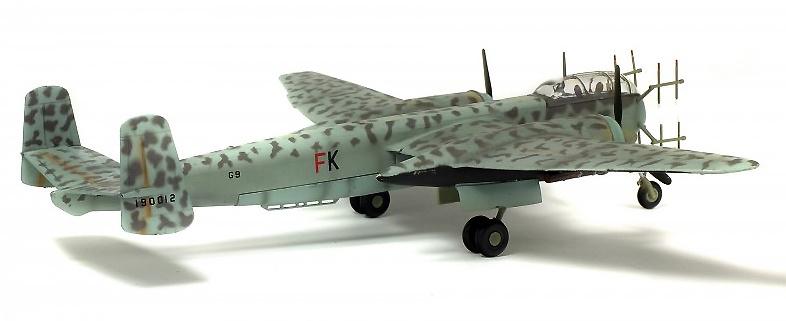 Heinkel 219 UHU, Noruega, 1945, 1:72, Solido