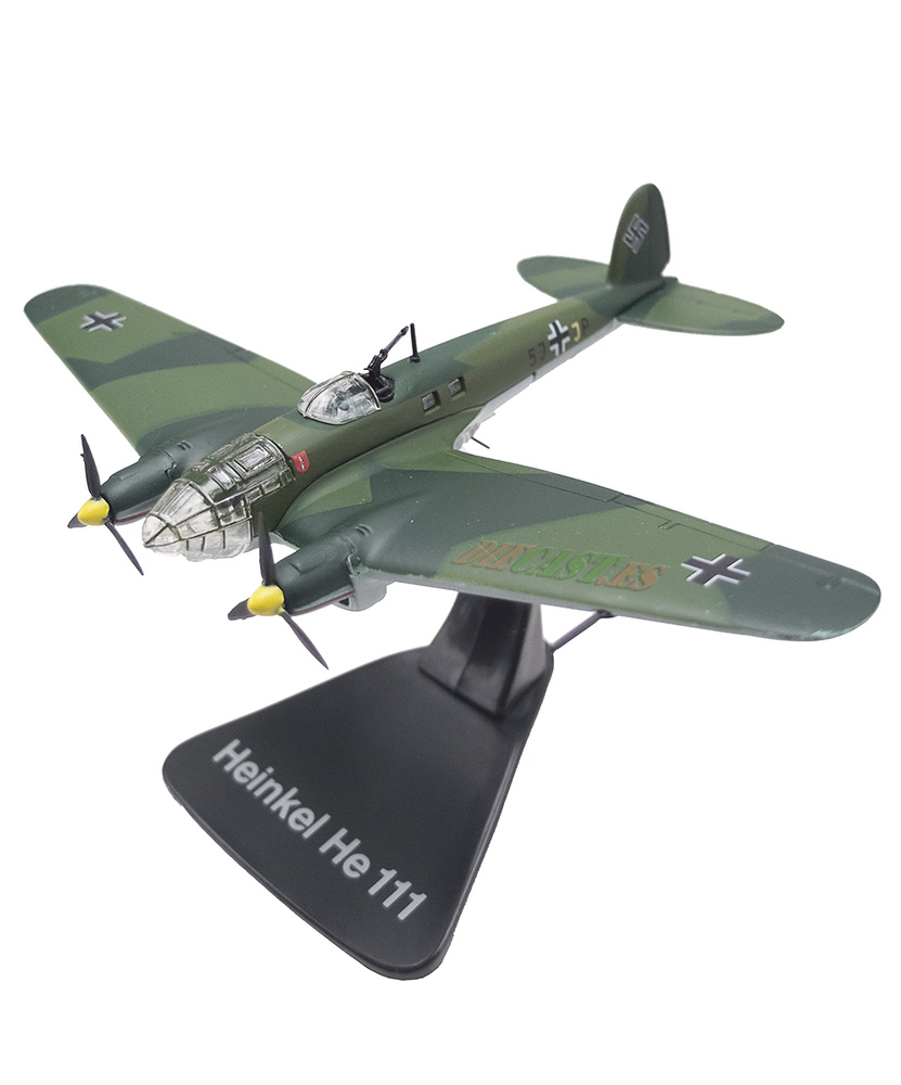 Heinkel He 111, Germany, 1936/45, 1: 144, Editions Atlas