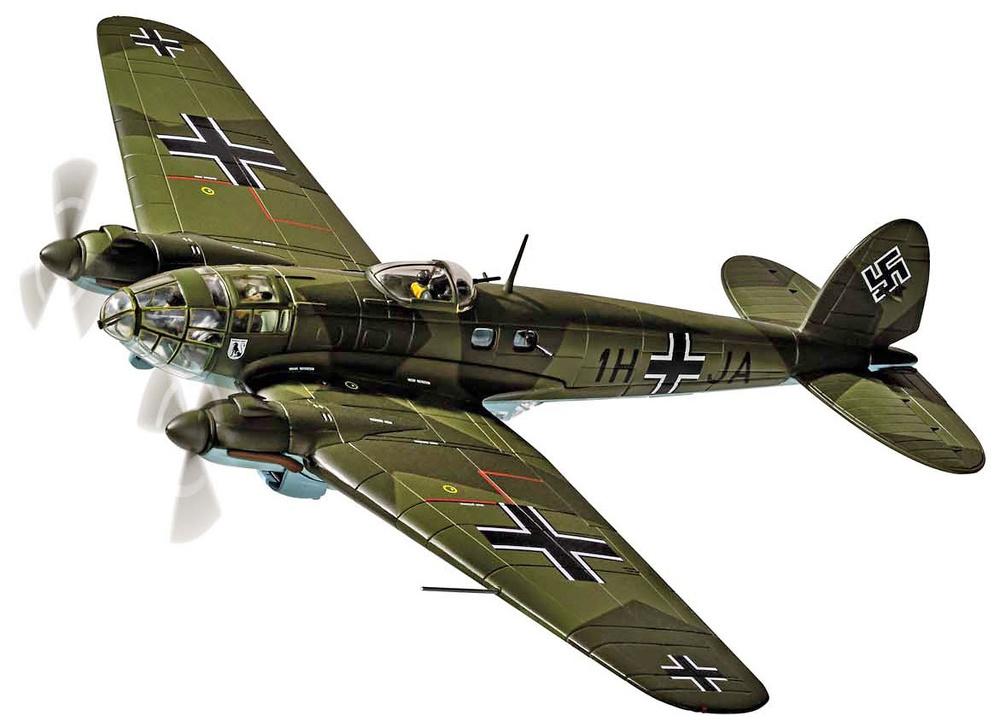 Heinkel He111 H-2 1H+JA, Stab./KG26,