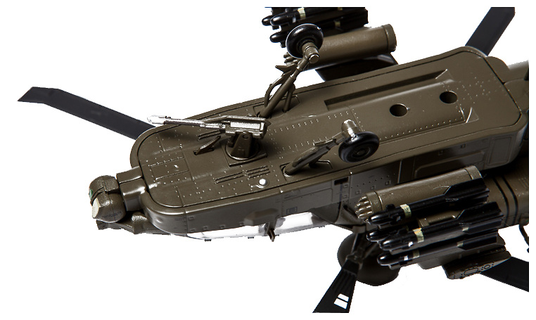 Helicóptero AH-64D Apache Longbow, U.S. Army, 3rd Infantry Division, 2003-hoy, 1:72, Air Force One