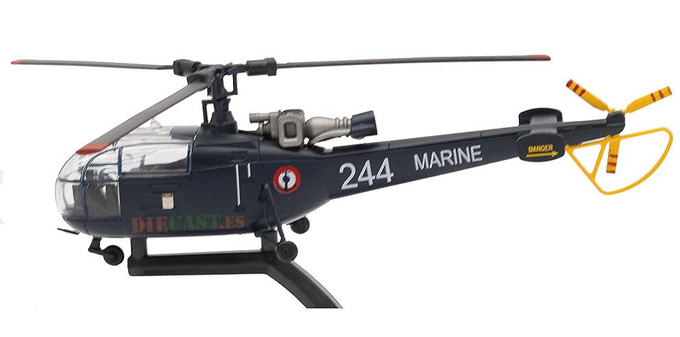 Helicóptero Aerospatiale SA319 Alouette III, Francia, 1:72, Planeta DeAgostini