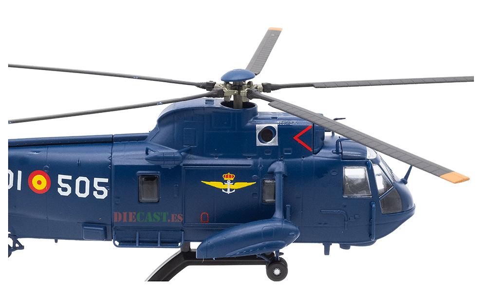 Helicóptero Agusta SH-3D Sea King, 5ª Escuadrilla, Armada Española, 1:72, Planeta DeAgostini