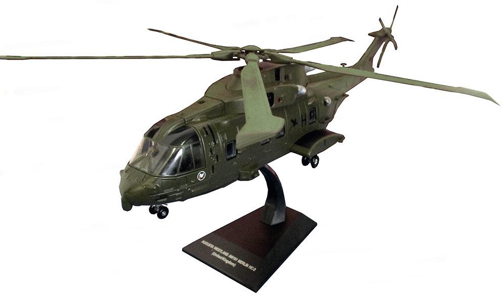 Helicóptero Agusta Westland AW-101 Merlin HC-3, Reino Unido, 1:72, Planeta DeAgostini