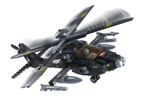 Helicóptero Apache, Sluban