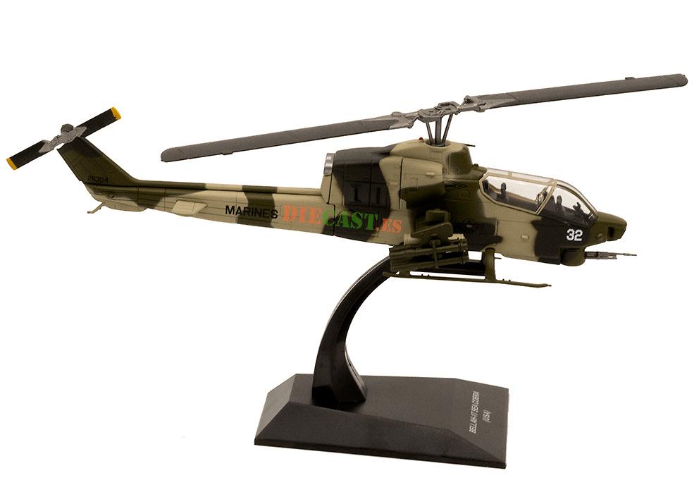 Helicóptero Bell AH-1T Sea Cobra (USA), 1:72, Planeta DeAgostini