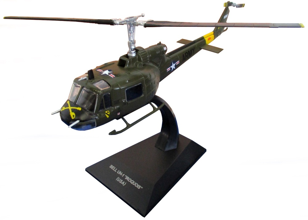 Helicóptero Bell UH-1 Iroquois, USA, 1:72, Altaya