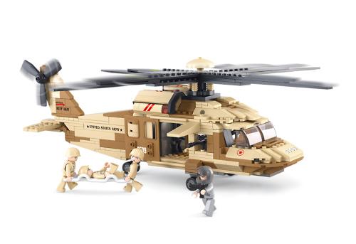 Helicóptero Black Hawk, Sluban