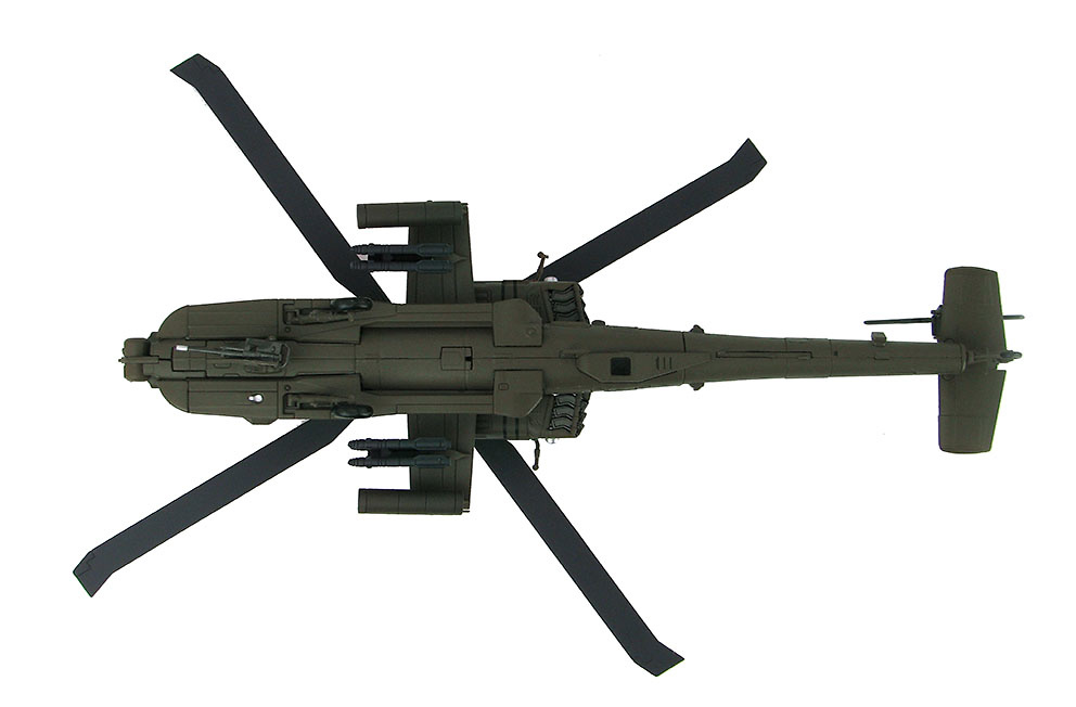 Helicóptero Boeing AH-64D Longbow Apache 8th Battalion, 229th Aviation Regiment, US Army, 1:72, Hobby Master