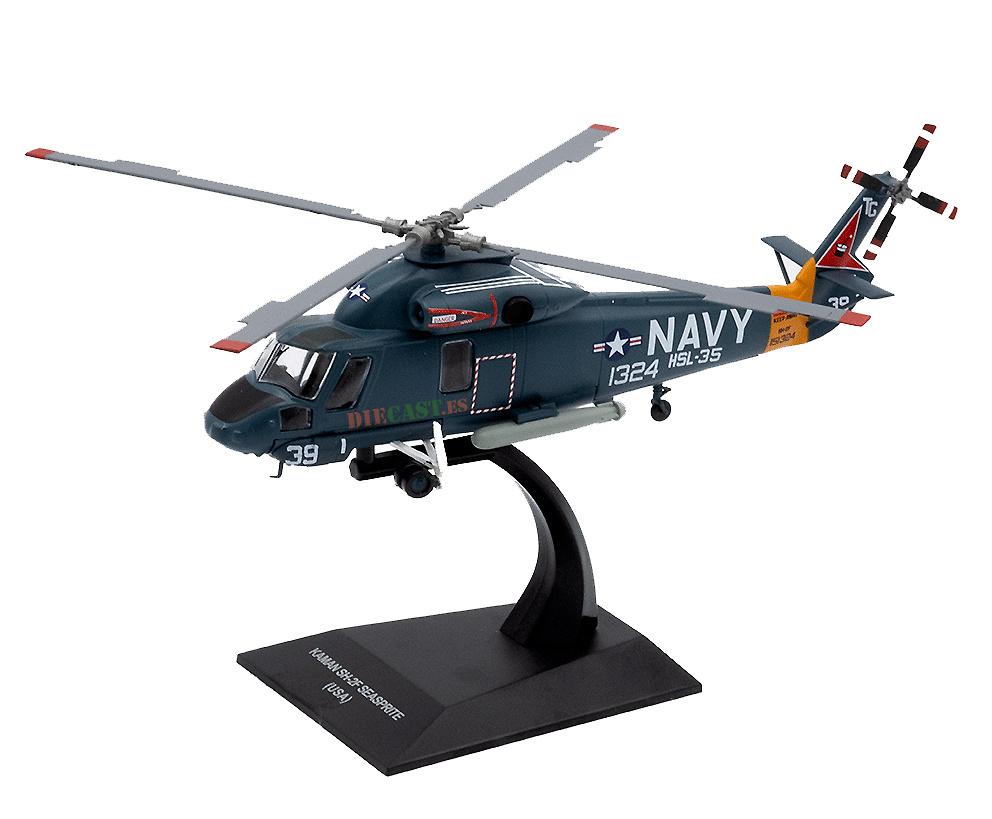 Helicóptero Kaman SH-2F Seasprite (USA), 1:72, Planeta DeAgostini
