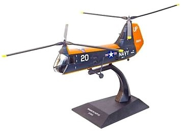 Helicóptero Piasecki HUP Retriever 1/2, USA, 1:72, Planeta DeAgostini