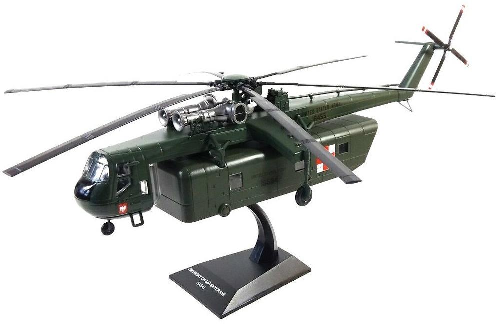 Helicóptero Sikorsky CH-54A Skycrane, USA, 1:72, Planeta DeAgostini