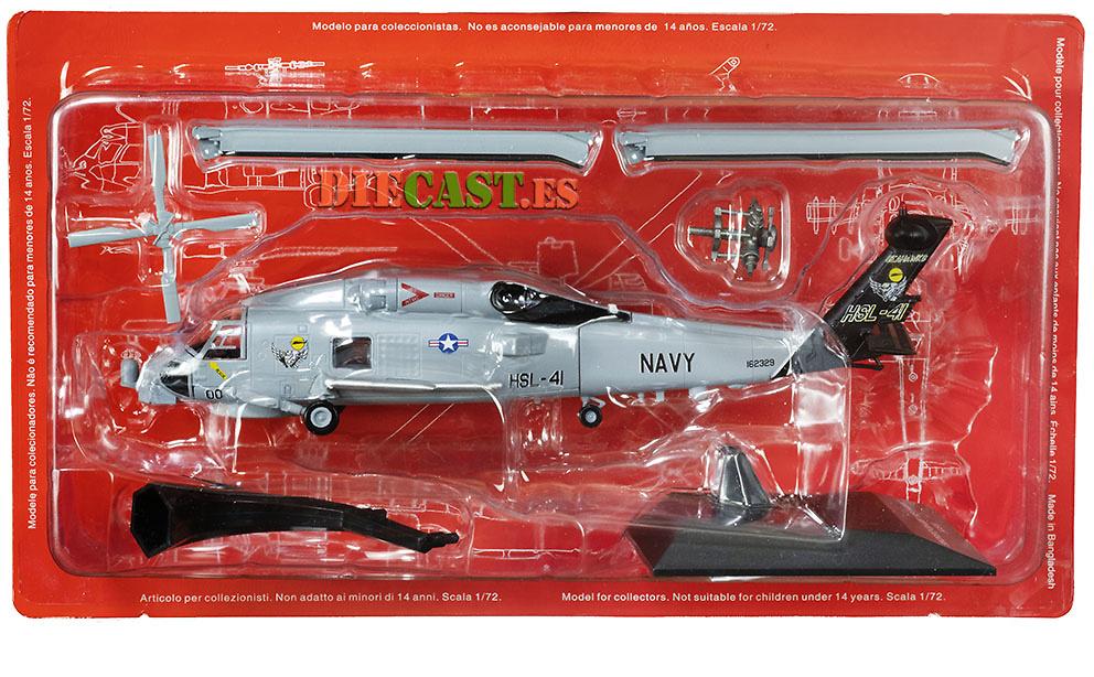 Helicóptero Sikorsky SH-60B Sea Hawk, USA, 1:72, Planeta DeAgostini
