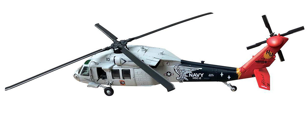 Helicóptero Sikorsky UH-60 Night Hawk, HC2 Fleet Angels, NAS Norfolk, VA 2008, 1:72, Air Force One
