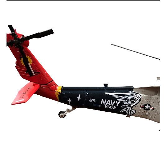 Helicóptero Sikorsky UH-60 Night Hawk, HC2 Fleet Angels, NAS Norfolk, VA 2008, 1:72, Air Force One
