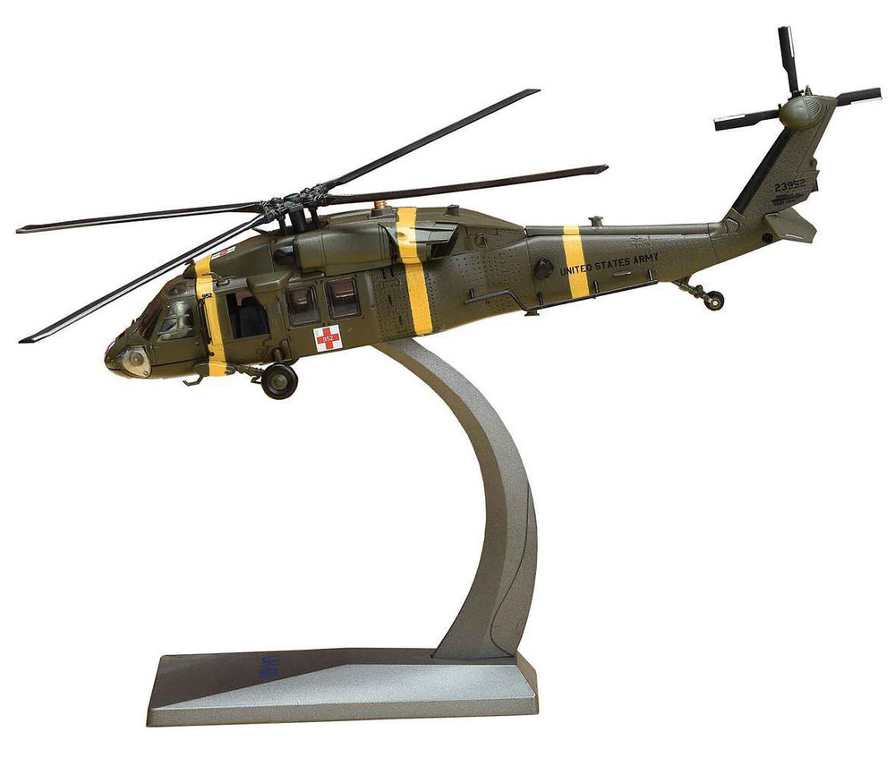 Helicóptero Sikorsky UH-60M MEDEVAC Black Hawk Helicopter, 377th Medical Company, Corea del Sur, Abril, 2007, 1:72, Air Force One