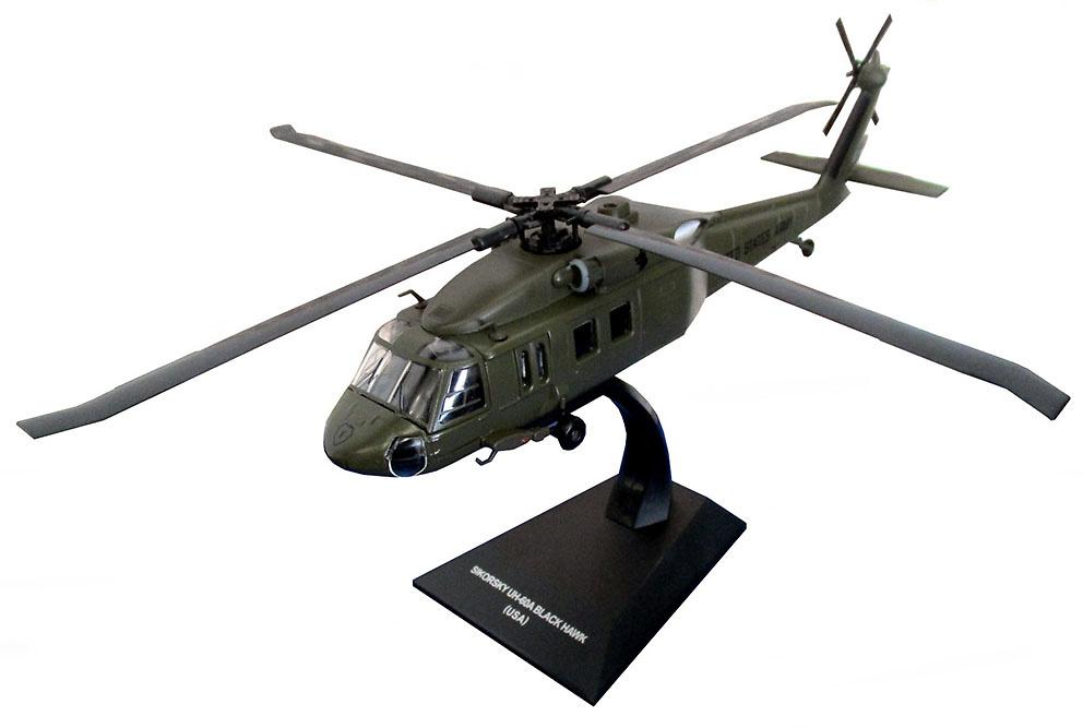 Helicóptero Sikorsky UH60A Black Hawk, USA, 1:72, Planeta DeAgostini
