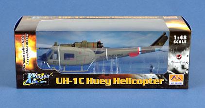 Helicóptero UH 1C 57th Aviation Company, 1:48, Easy Model