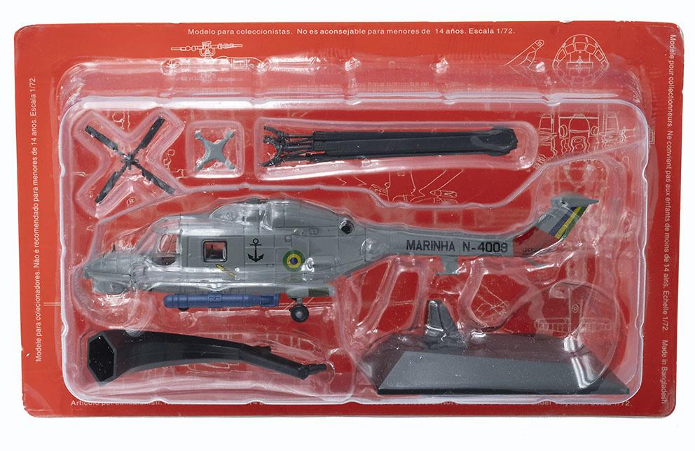 Helicóptero Westland AH-11A Super Lynx, Marina do Brasil, 1:72, Planeta DeAgostini