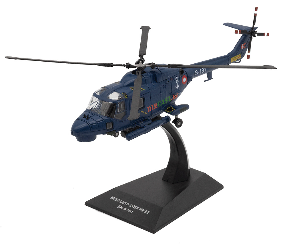 Helicóptero Westland Lynx Mk.90, Dinamarca , 1:72, Planeta DeAgostini